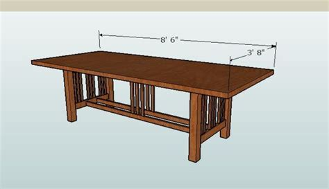 dining room table woodworking plans shaker dining table plans free woodworking projects plans