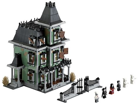 lego  monster fighters  haunted house  brick city