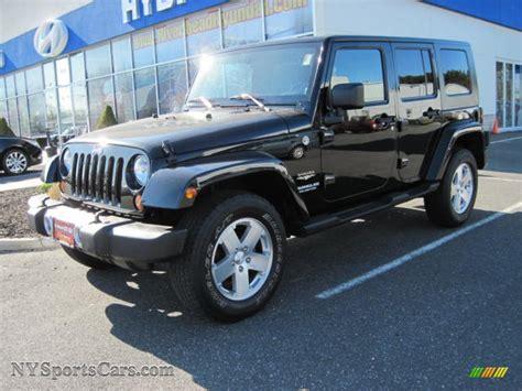 jeep sahara black 2008 jeep wrangler unlimited sahara 4x4 in black 575070