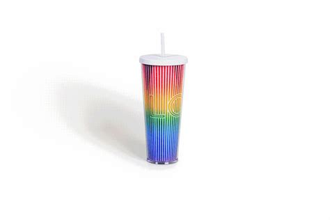 You can wear rainbow cup for up to 12 consecutive hours day & night. Starbucks releases rainbow-colored reusable cups for Pride ...