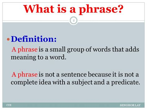 Phrases, Clauses And Sentences  Ppt Download