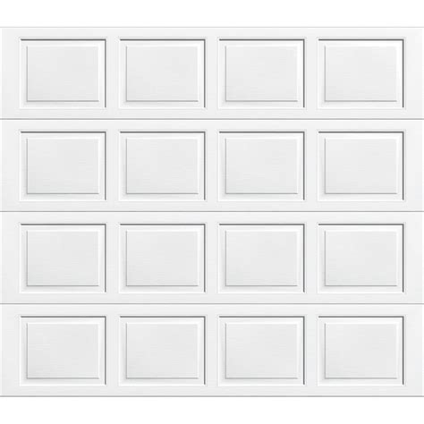 dalton wayne garage door 9100 series 8000 single lowes insulated almond ft enlarged