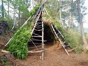 Tipi Little Nice Things : how to build survival shelter getting yourself out of the elements in a pinch ~ Preciouscoupons.com Idées de Décoration