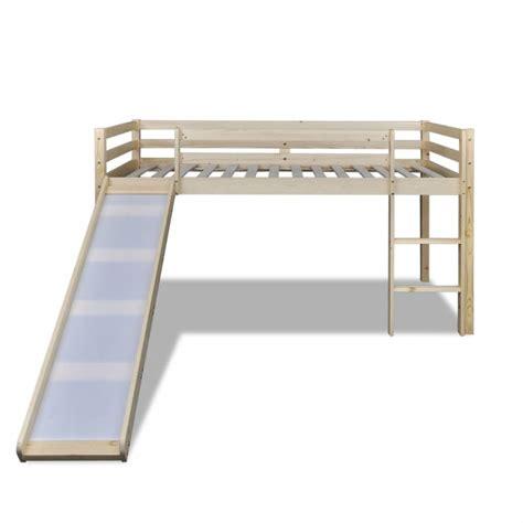 la boutique en ligne lit mezzanine avec toboggan et