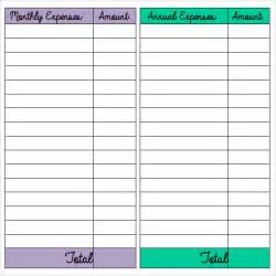 Budgeting Sheets Template Budget Sheet Template 7 Free Sles Exles Format