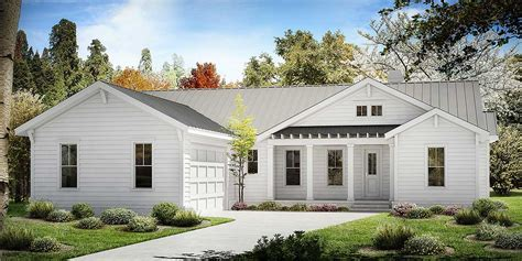 One Story Farmhouse Plan   25630GE   Architectural Designs
