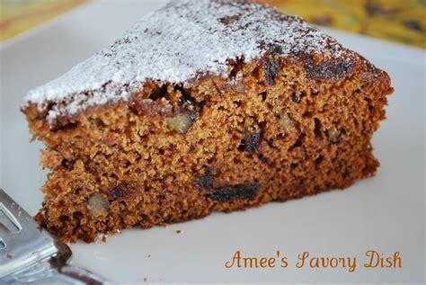 vintage date nut cake recipe amees savory dish