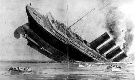 where did the rms lusitania sink sinking of the lusitania why did the liner go