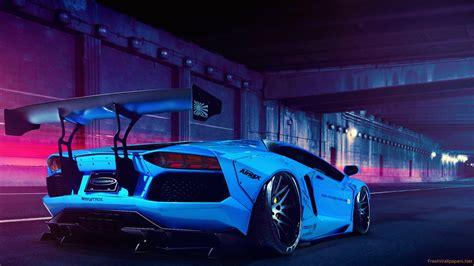 Car Lamborghini Aventador Tuning Hd Wallpaper