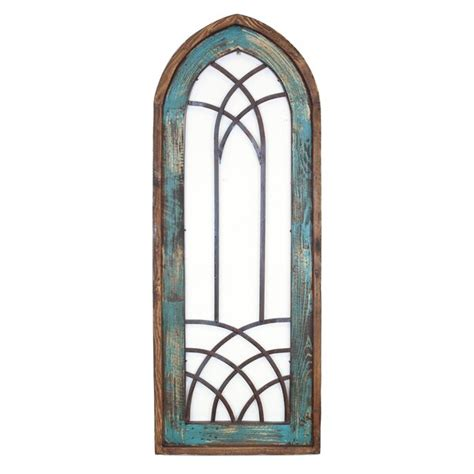 Filling an empty wall doesn't have to be expensive. Cathedral Window Wall Decor | Wayfair
