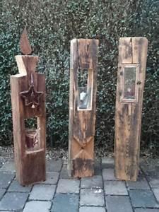 Weihnachtsbasteln Aus Holz : holzlaterne aus alten holzbalken weihnachtsgeschenk in bayern osterhofen ebay ~ Orissabook.com Haus und Dekorationen