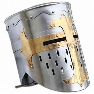 Knights Templar Crusader Helmet Medieval Armor 5E3-IN2204 ...