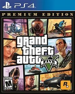 Grand Theft Auto V: Premium Edition, Rockstar Games, PlayStation 4, 710425570322 - Walmart.com ...