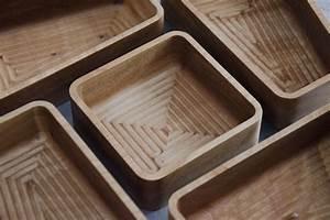 Custom Cnc-Cut, Red Birch Serving Trays by MATO