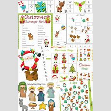 The Best Christmas Activities For Kids  Christmas Printables And Activities  Natural Beach Living