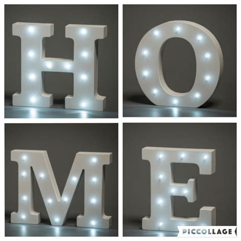 light up letters home sweet homehome sweet home
