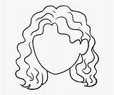 Curly Drawing Draw Clipart Natural Wavy Drawings Cartoon Simple Coloring Transparent Step Tutorial Really Crazy Clipartmag Kindpng Sketches sketch template