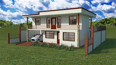 Diseños y Planos de Casas De Dos Pisos: Proyecto CDP K1