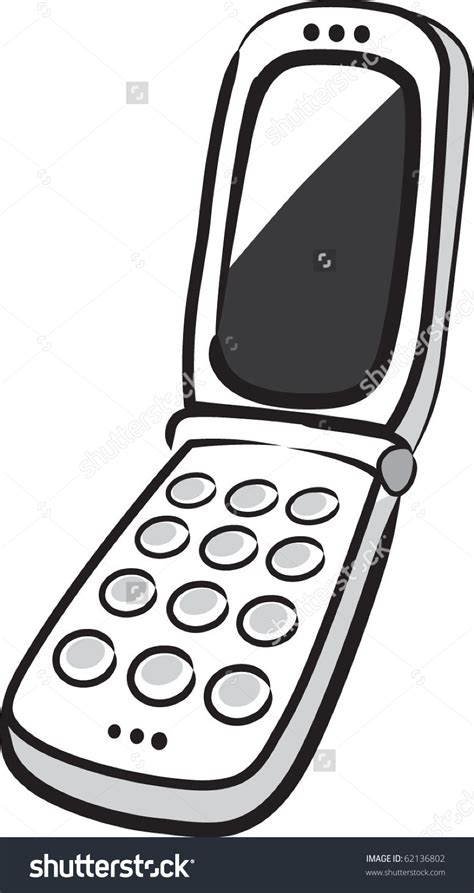 flip phone clipart black and white flip phone clipart clipground