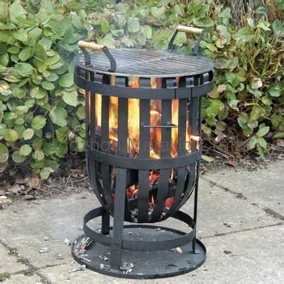 CMC Garden Steel Firepit and Firebasket   FSL097 FSL124