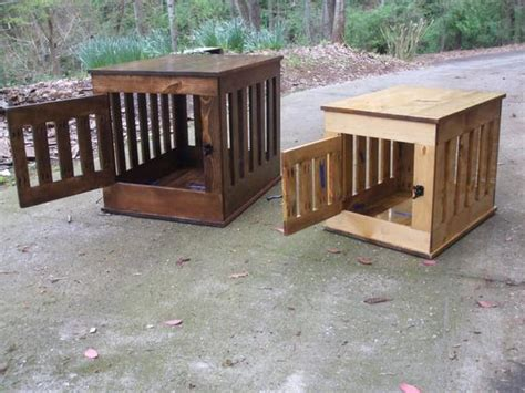 dog crate  table wooden dog kennel indoor wood dog house
