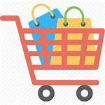 Shopping Icon Cart Items Trolley Order Bags