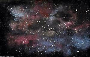 artisan des arts: Outer space nebula/galaxy paintings ...