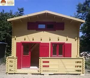Chalet En Bois Habitable 20m2 : chalet de loisirs paris 20m mezzanine 10m en bois en ~ Dailycaller-alerts.com Idées de Décoration