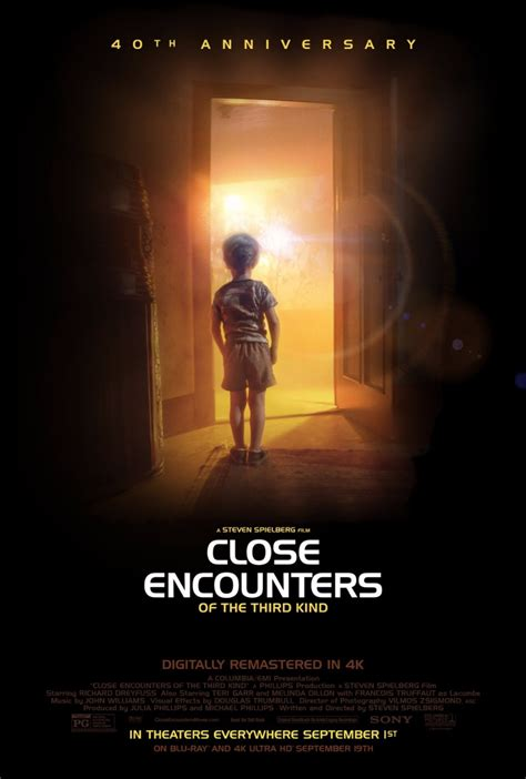 Close Encounters of the Third Kind Gets A New Movie Poster