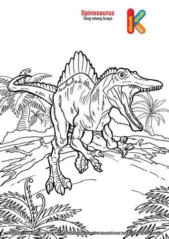 spinosaurus  rahang buaya purba  anak