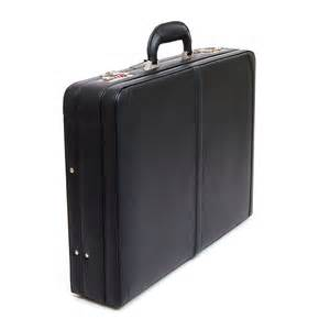 Alpine Swiss Expandable Leather Briefcase