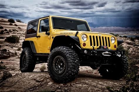 yellow jeep wrangler  weld  wheels jeeps yellow