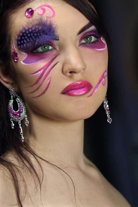 maquillage carnaval femme facile
