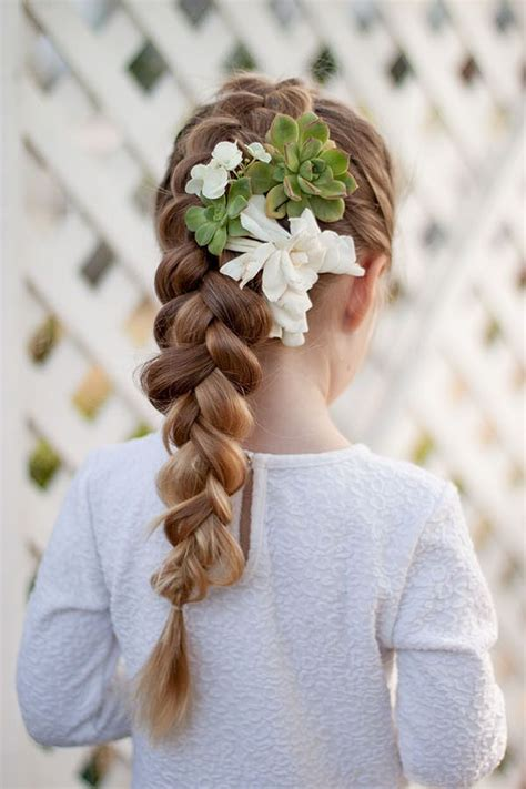 The cute easter hairstyles for consistently is a polish of twists, a reasonable geometry of the lines and simple carelessness, giving the picture of a lively coquetry. Easter Hairstyles for Kids - Cute Easter Hairstyles