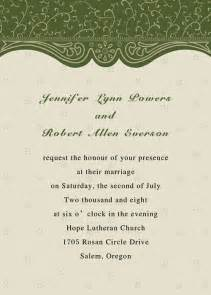 wedding invitations cards discount country green swirl summer wedding invitation card ewi075 as low as 0 94