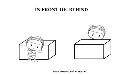in and out worksheets for preschoolers learning to write i 156 | in front of behind opposite words worksheets for preschool children