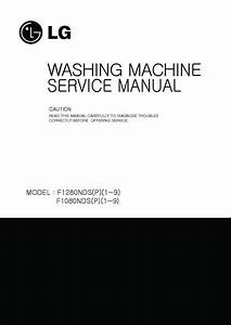 Lg F1280nds  F1280nds5 Service Manual  U2014 View Online Or
