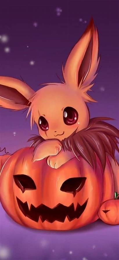 Halloween Anime Eevee Fondos Pokemon Pantalla Pikachu