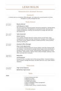 free cosmetology resume sles advisor resume sles visualcv resume sles