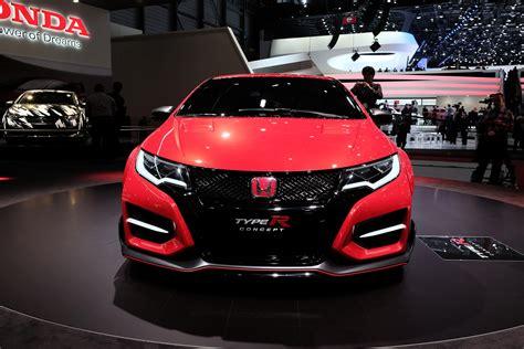 Honda Civic Type R Concept Geneva 2018 Picture 98990