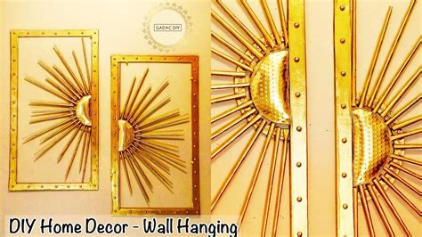 wall hanging craft ideas  easy diy unique wall