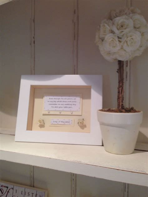 Shabby Personalised Chic Mother Of The Bride Wedding Gift