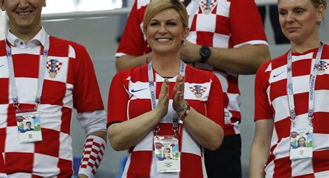 Croatian President Flies Economy Class Russia Cheer