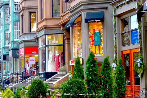 holiday shopping  boston boston discovery guide
