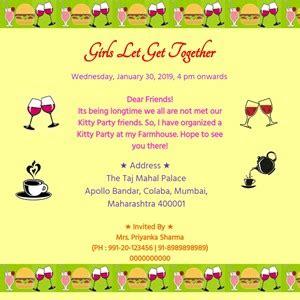 birthday invitation app plancha