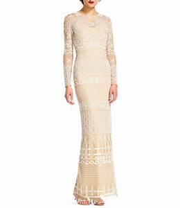 Long sleeve long wedding dresses gowns dillards wedding for Dillards wedding dresses