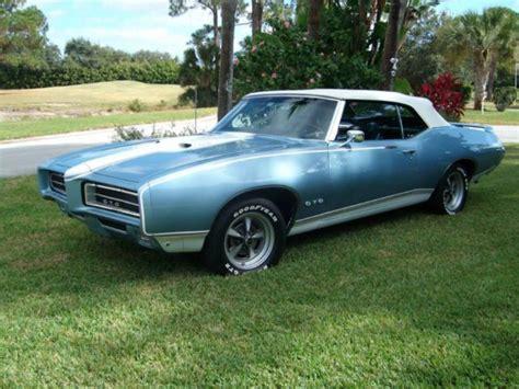Rare 1969 Pontiac Gto Convertible Bobcat Clone Comes With