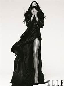 Naomi Campbell Strikes A Pose For ELLE & Says She's Proud ...