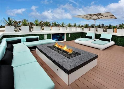 luxurious house design with gorgeous roof terrace and