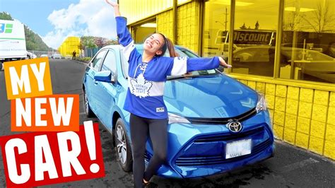 My New Car + Car Tour! Toyota Corolla 2017 (3rd Car After The Accident) Youtube